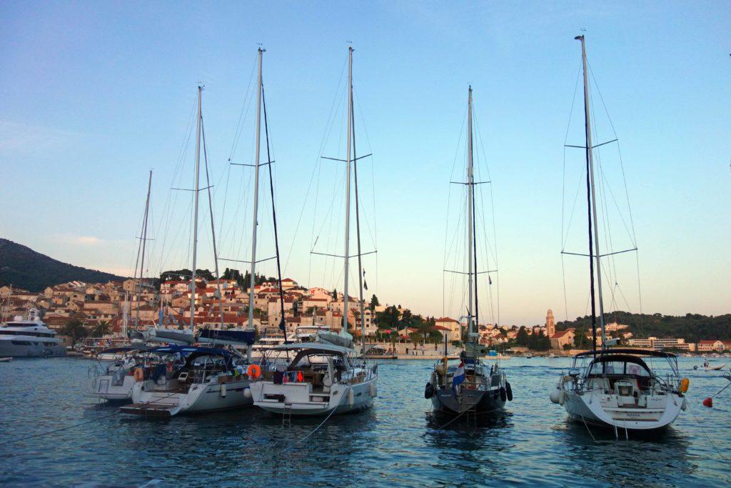 Bootfahren Kroatien