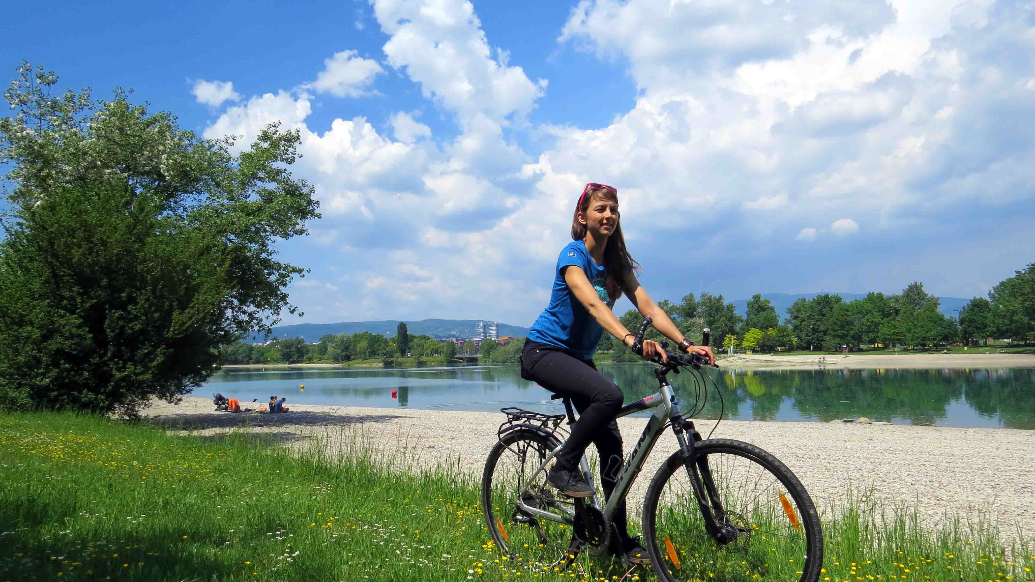 Zagreb Radtour und Kanu