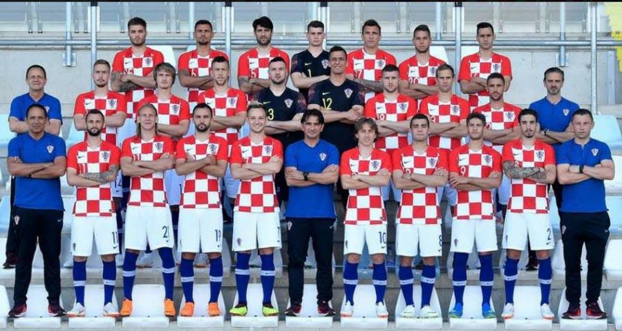 Zlatko Dalić und die kroatische Fußballnationalmannschaft