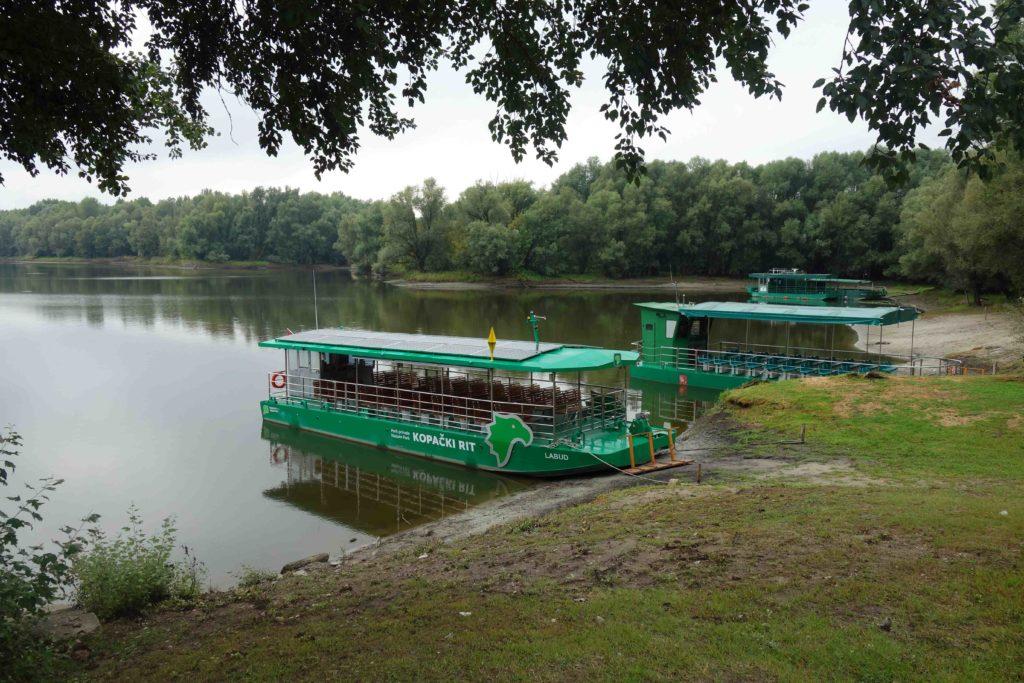 Bootsfahrt im Naturpark Kopacki rit