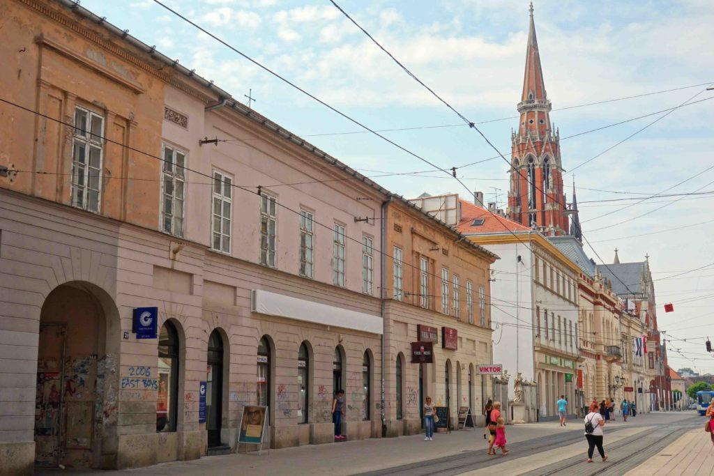 Fußgängerzone von Osijek