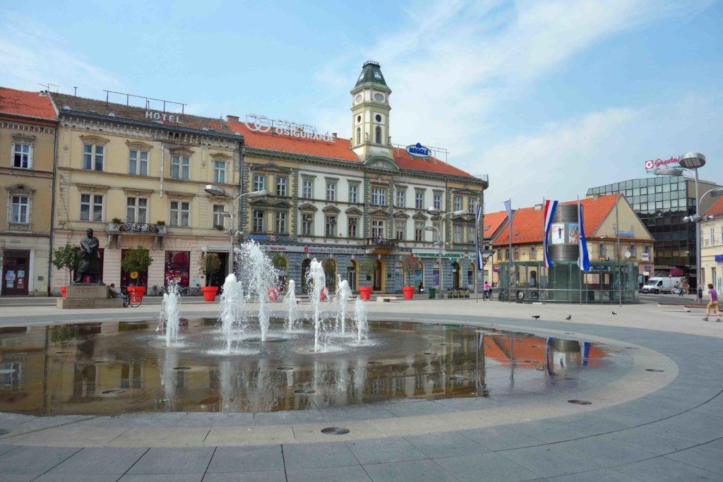 Trg Ante Starcevic Osijek