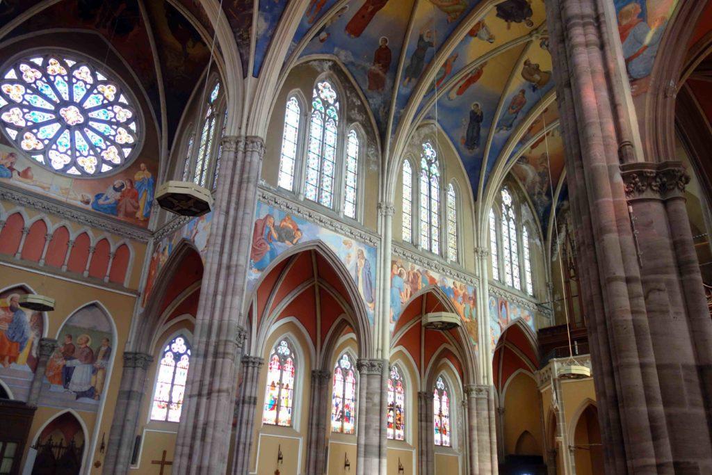 Malereien in der Kirche Sv. Petar i Pavao Osijek