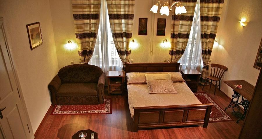 Zimmer im Gästehaus Maksimilian Osijek