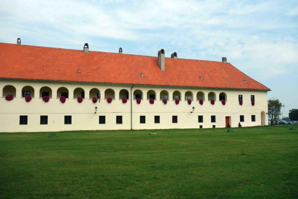 Festungsmauern in Osijek