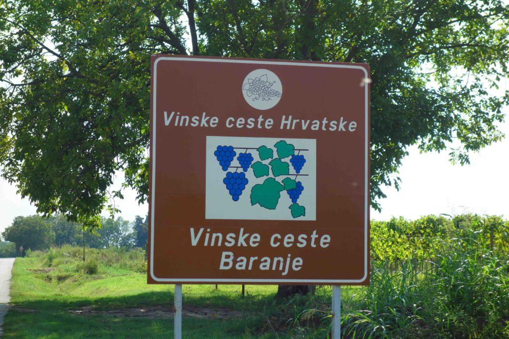 Weinstraßen von Baranja