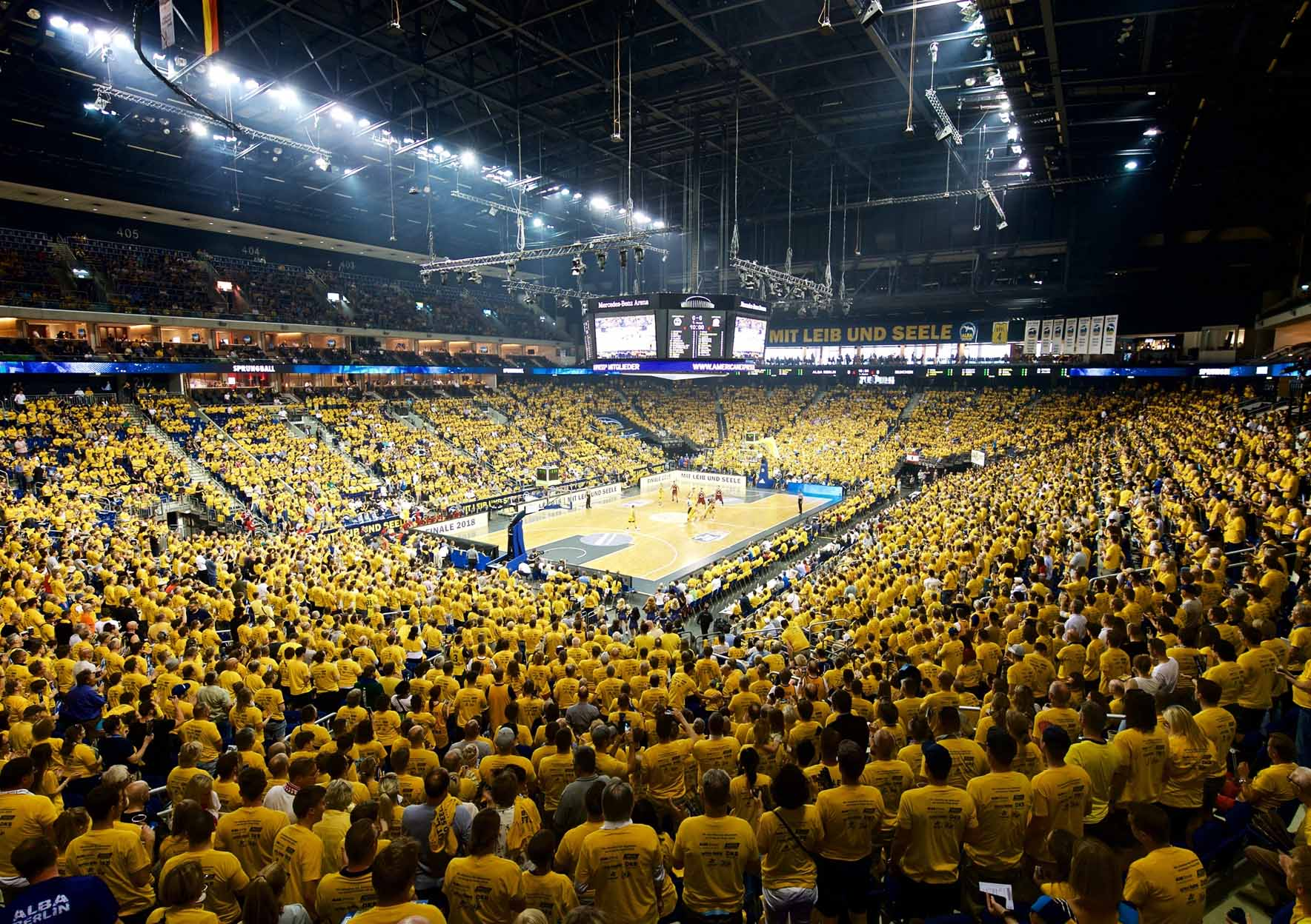 Basketball EuroCup ALBA Berlin gegen Cedevita Zagreb
