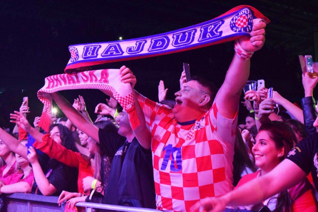 Fans bei der Hrvatska Noc 2018