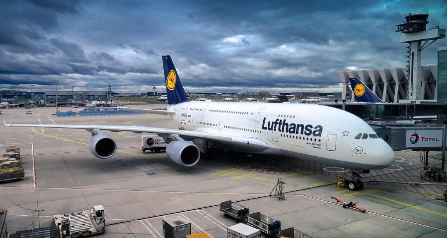 Flugstrecke München Rijeka mit Lufthansa