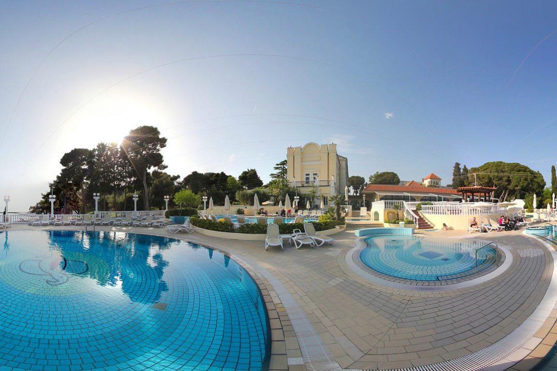 Preiswerte Luxushotels in Kroatien
