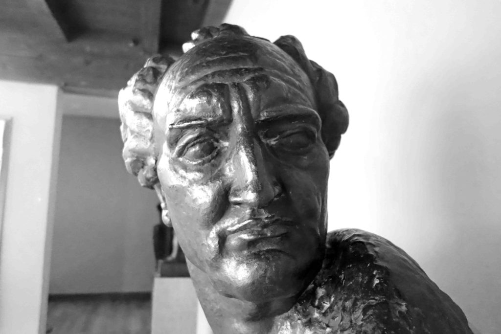 Goethe-Skultur von Ivan Mestrovic