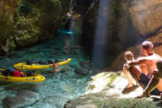 Kayaking auf Dugi Otok