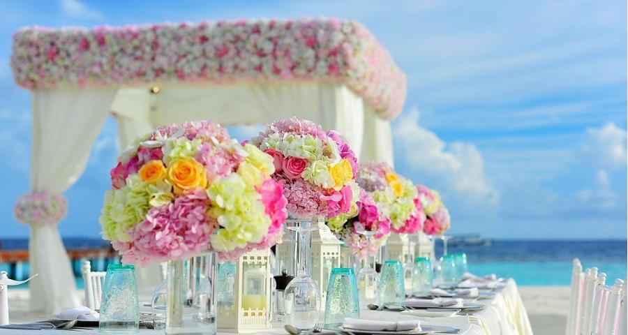 Hochzeit am Strand in Kroatien