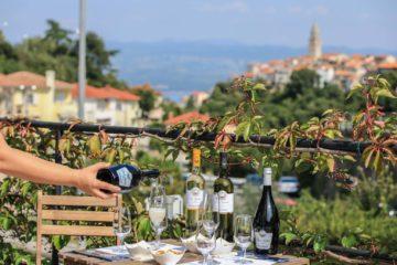 Weinprobe auf Krk