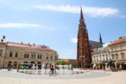 Osijek, eine Woche Urlaub in Slawonien