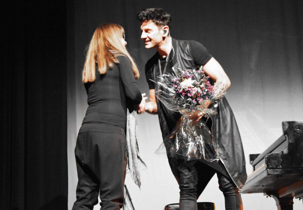 Maksim Mrvica nach dem Konzert im Heimathafen Neukölln