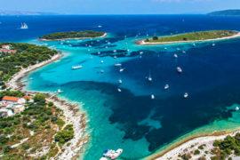 Speedboot-Tour Blaue Lagune & Trogir ab Split