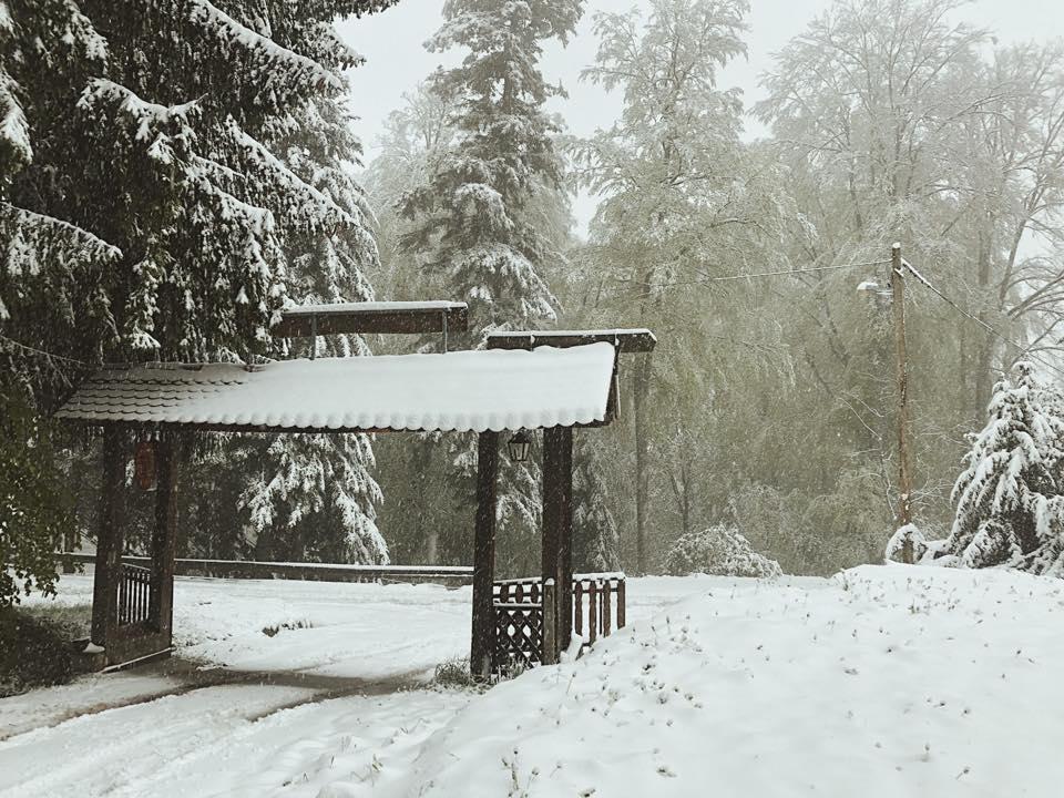 Schneechaos auf Sljeme im Mai