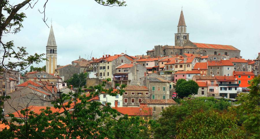 Buje, Kleinstadt in Istrien