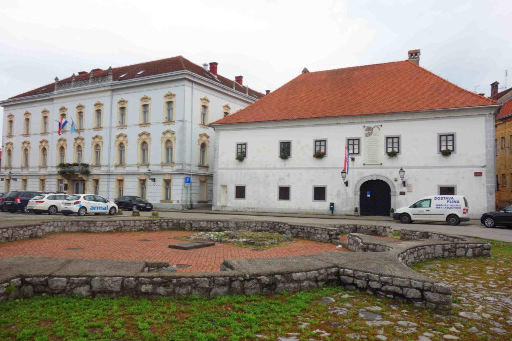 Altstadt von Karlovac, Kroatien