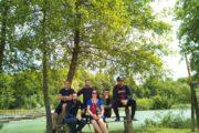 Rafting Team Mreznica mit Annika von Kroatien-Liebe