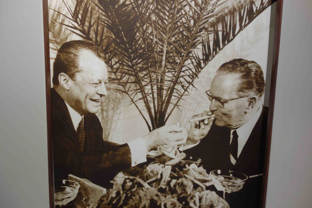 Willy Brandt und Tito