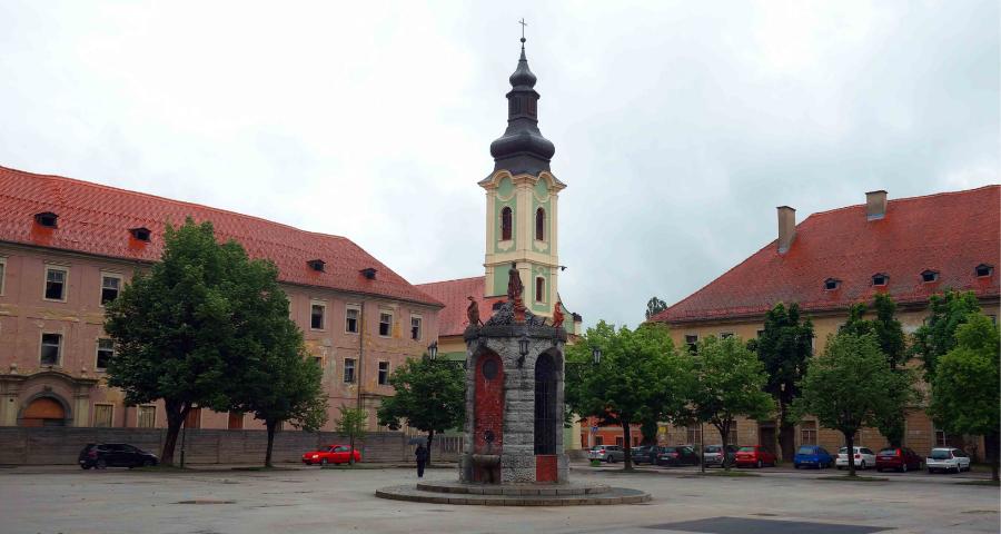 Hauptplatz von Karlovac