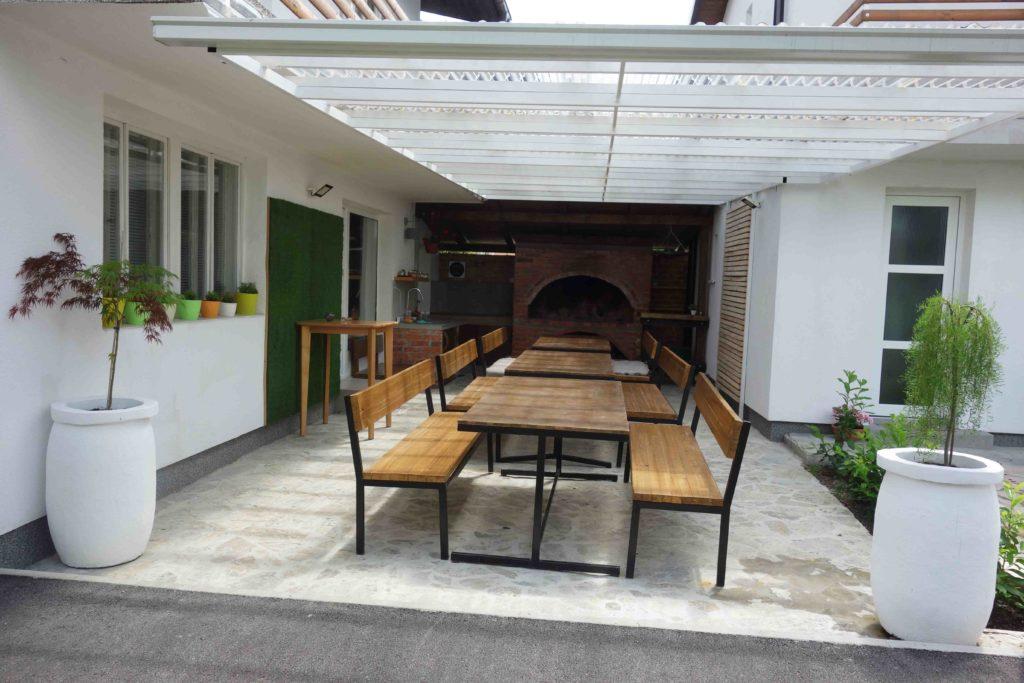 Hostel Eva Karlovac, außen