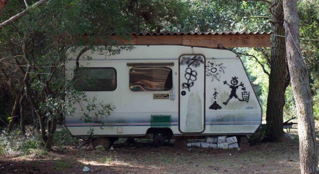 Campingplatz auf der Insel Veruda