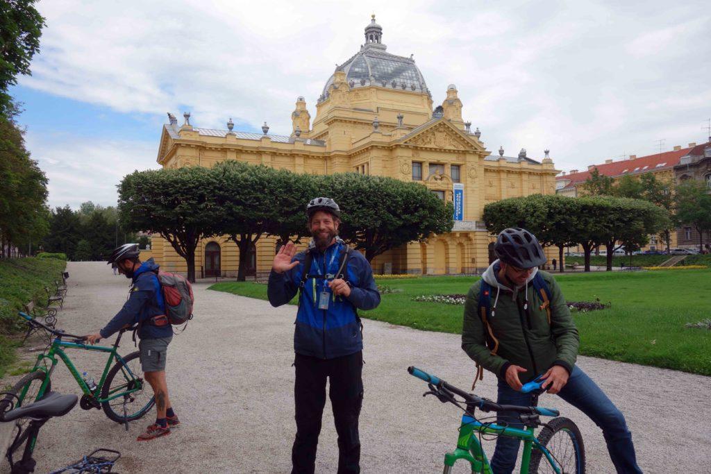 Geführte Radtour durch Zagreb