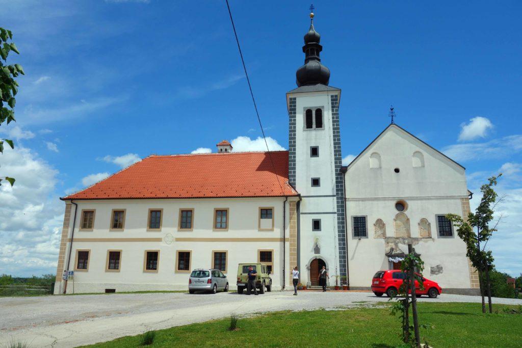 Kirche in Kamensko bei Karlovac