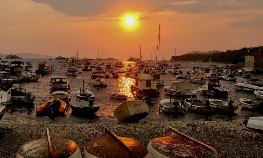 Marina in Kroatien