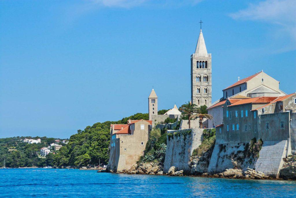 Stadt Rab, Kroatien