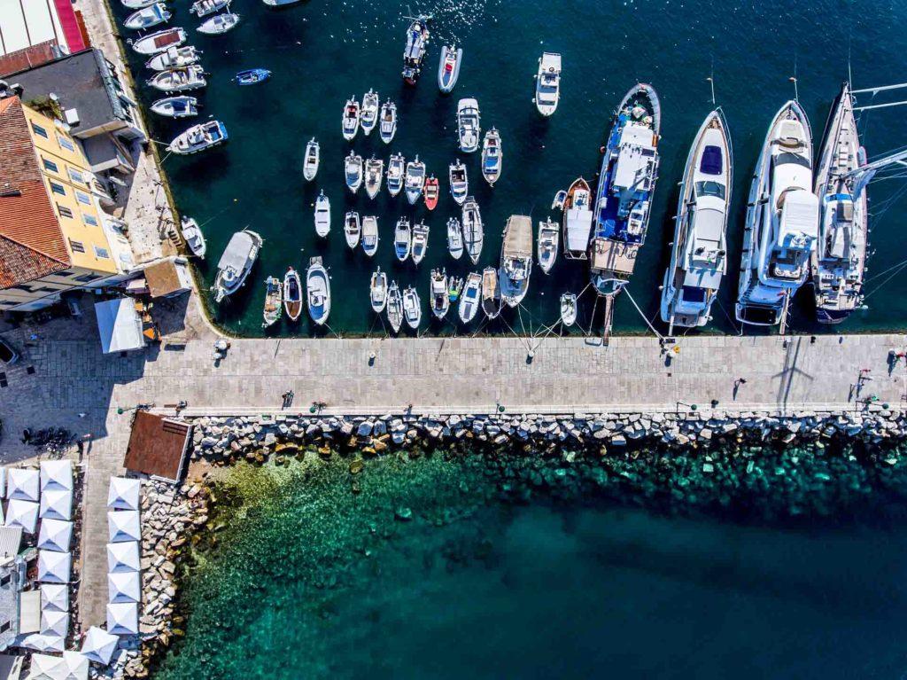 Yachten chartern auf der Adria