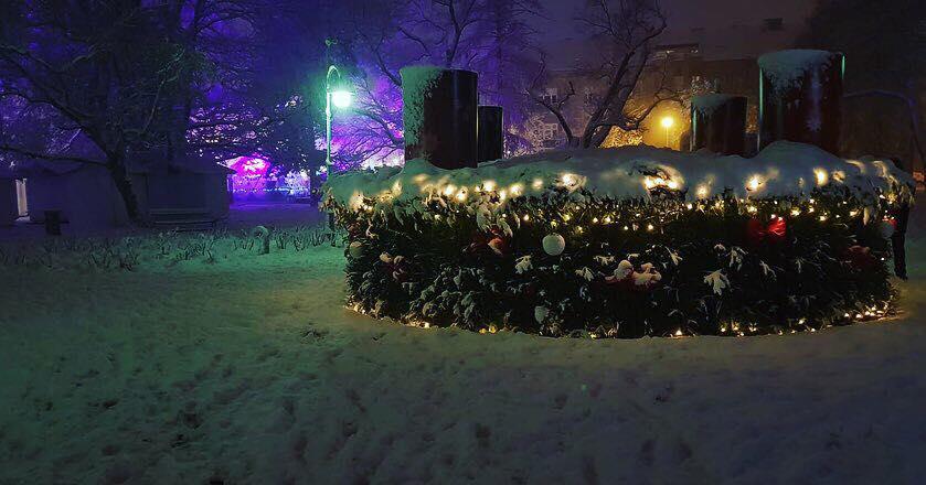Advent in Osijek, Kroatien
