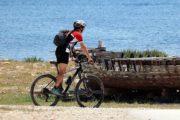 Radtour am Meer, Kroatien