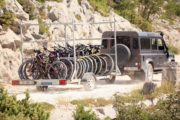Radtour Velebit, Kroatien