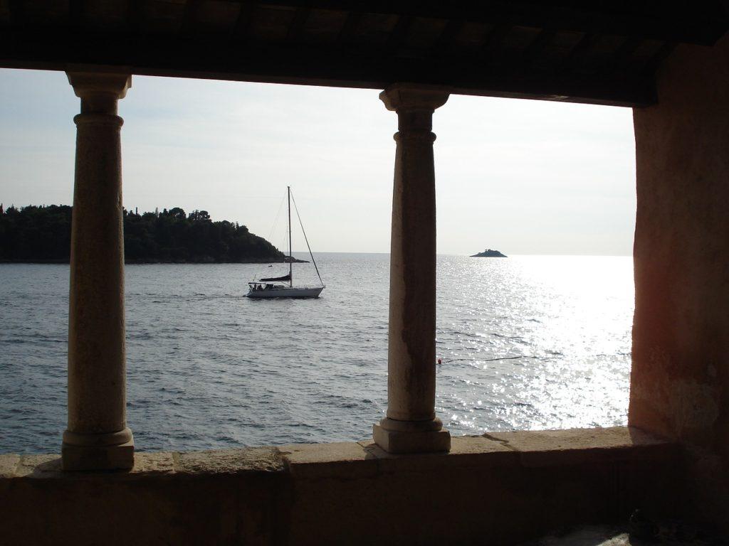 Boot fahren in Porec