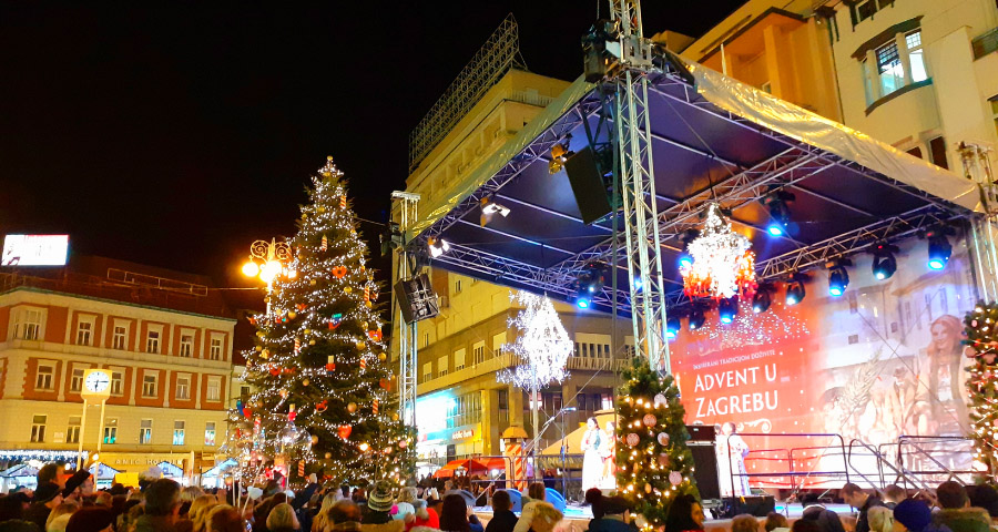 Advent in Zagreb 2020