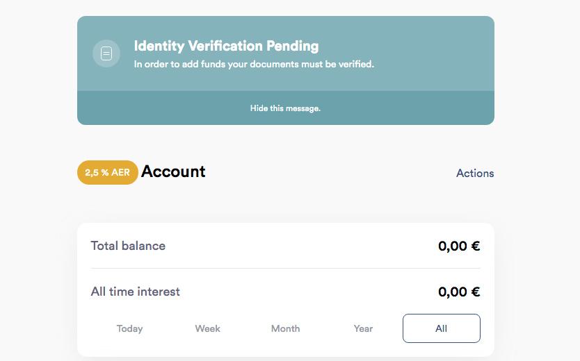 Iban Wallet Account