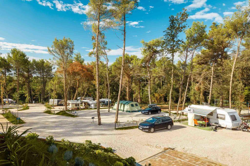 Campingplatz in Kroatien