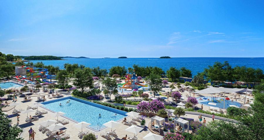 Campingplätze mit Aquaparks in Kroatien