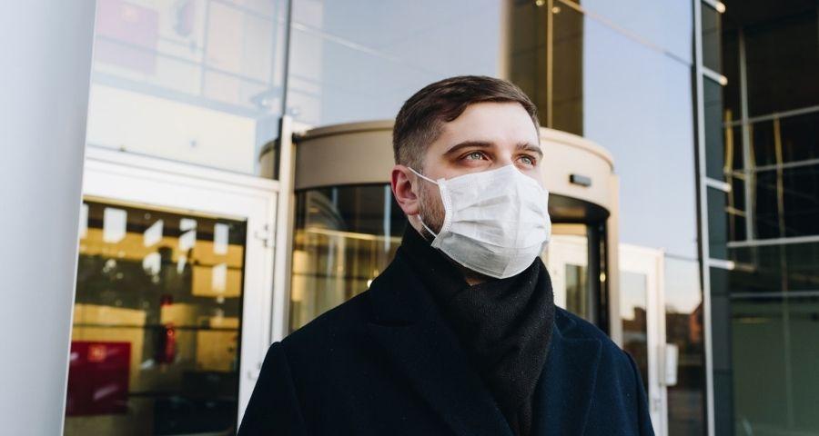 Maskenpflicht im Freien
