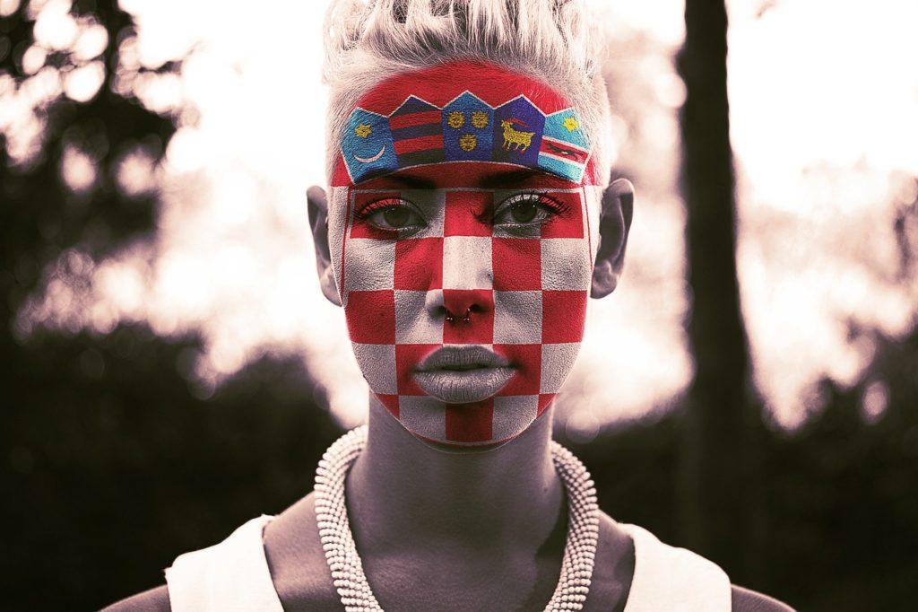 Kroatien im Fußballfieber
